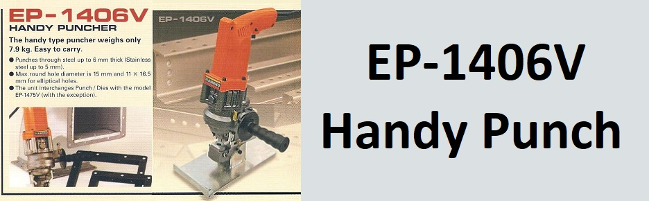 EP-1406V Portable steel punches, handy puches