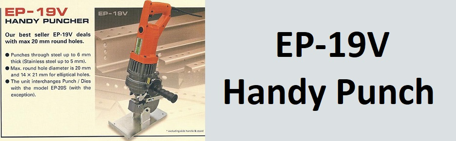 EP-19V Portable steel punches, handy puches