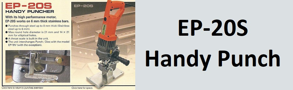 EP-20S Portable steel punches, handy puches
