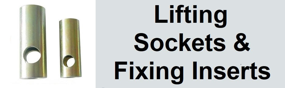 Precast Lifting Sockets and Fixing Inserts